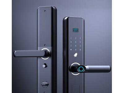 指纹锁家用防盗门密码锁智能门锁远